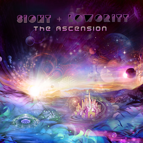 Cover Artwork from The Ascension LP By Sight & Lowgritt